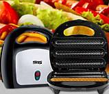 Гриль для приготовления хот-догов антипригарный 750W DSP KC 1132 Hot Dog Maker, фото 3