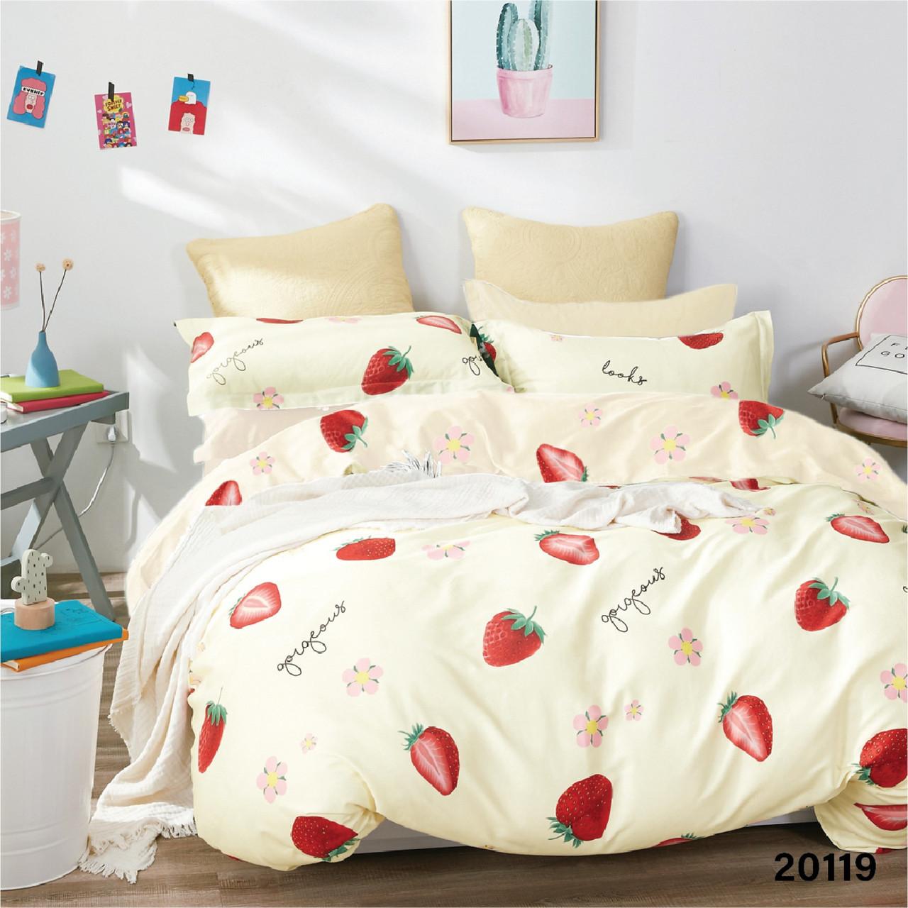 Комплект постельного белья подростковый ранфорс 20119 ТМ Вилюта