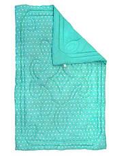 Одеяло зимнее особо теплое шерстяное 200x220 евро Бязь 450г/м.кв (322.02ШУ_Blue), фото 3