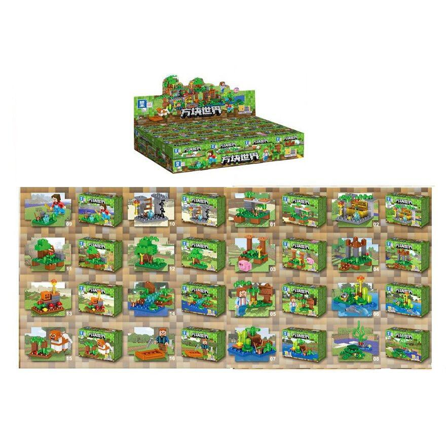 Конструктор набор блок Minecraft 0565