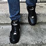 Кроссовки N!ke Air Force Черные Мужские Найк (размеры: 42,44), фото 3