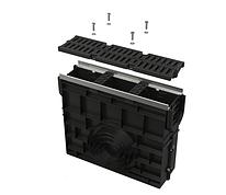 Пескоуловитель для дренажного канала AVZ103 с металлической рамой и решеткой из композитного материала С250