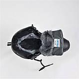 Ботинки ЗИМНИЕ Мужские Синие Кроссовки МЕХ (размеры: 41,42,43,45,46) Видео Обзор, фото 2