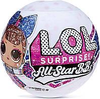 Игровой набор с куклой ЛОЛ Черлидеры 2-я серия L.O.L. Surprise! All-Star BBS Sports Series 2 Cheer Team 571780, фото 1