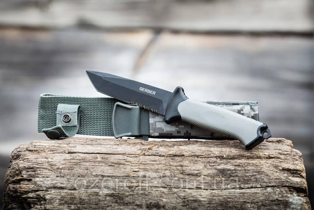 Охотничий нож с серрейтором Gerber 24,5см