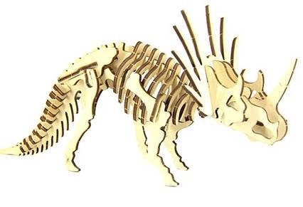 Конструктор динозавр Трицератопс 40 деталей