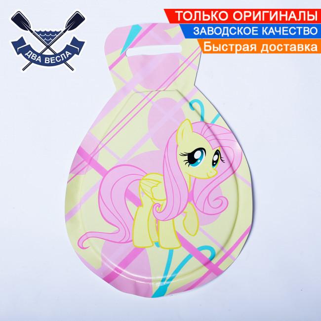 Ледянка для катания с горки 62х40х2,5 см Pink Pony мягкая детская ледянка для горки ледянки для малышей