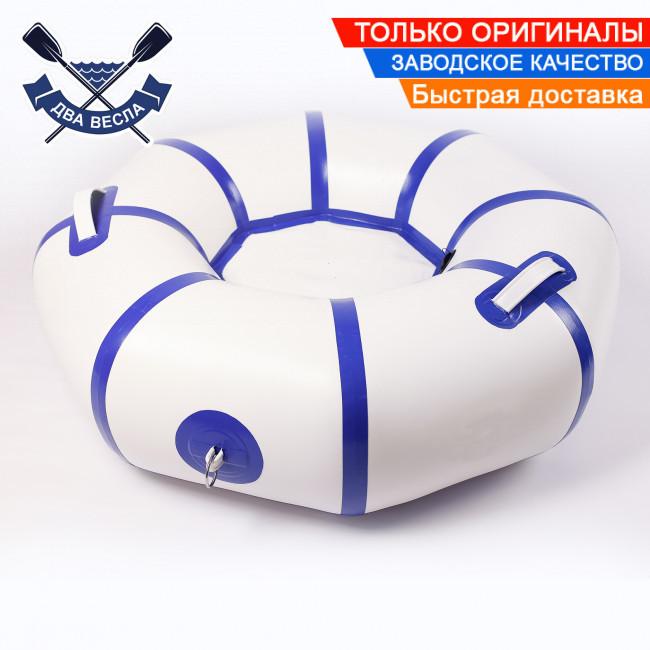 Тюбинги ватрушки ледянки 120х34 см до 150 кг ДВОЙНОЕ ДНО надувные плюшки для горок надувные санки