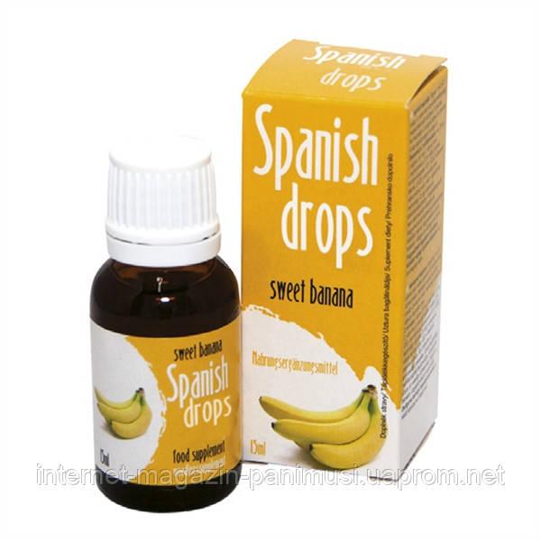Банановые возбуждающие капли любви 15мл Spanish Fly Banana