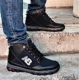 Ботинки Зимние New Balance Кроссовки Мужские на Меху Синие (размеры: 40,41,42,43,45) Видео Обзор, фото 3
