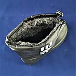 Мужские Сапоги в Стиле ADIDAS Зимние Пенка Дутики на Меху Черные Адидас (размеры: 41,42,45,46), фото 4