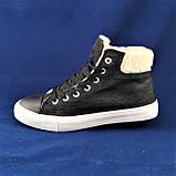 Зимние Женские Кроссовки на Меху Черные Ботинки (размеры: 36,37,38,39,40), фото 5