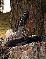Нож для охоты и рыбалки чехлом Gerber. Охотничий нож Гербер