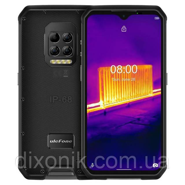 Смартфон UleFone Armor 9 black IP69K NFC тепловизор