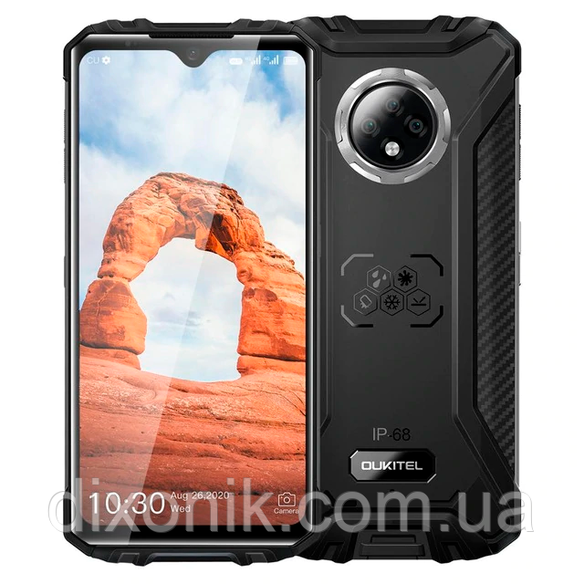 Смартфон OUKITEL WP8 Pro black 4/64 Гб NFC степень защиты IP69K