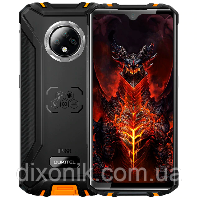 Смартфон OUKITEL WP8 Pro orange 4/64 Гб NFC степень защиты IP69K