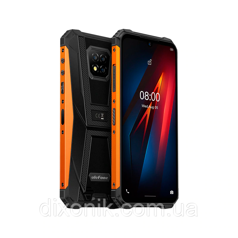 Смартфон UleFone Armor 8 orange IP69K NFC