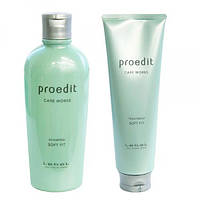 Набор шампуньProedit Soft Fit Shampoo 300ml + кондиционерTreatment 250ml Увлажняющий