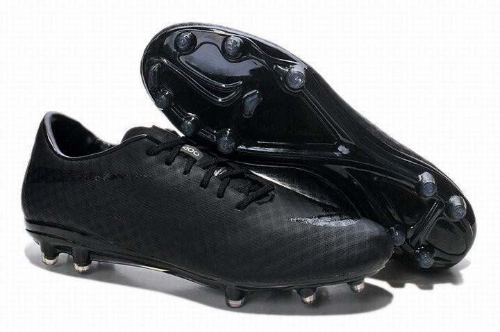 Футбольные Бутсы Nike HyperVenom (в Стиле Найк) Черные — в Категории