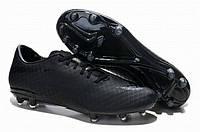 Футбольные бутсы Nike HyperVenom  (найк, оригинал) черные
