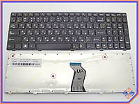Клавиатура для LENOVO IdeaPad V570, B570, B575, V580, B580, B590, V590, Z570, Z575 ( RU Black, Черная рамка ).