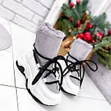 Ботинки женские Snowex белые 2618, фото 2