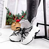 Ботинки женские Snowex белые 2618, фото 3
