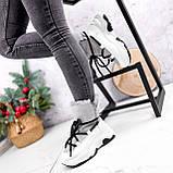 Ботинки женские Snowex белые 2618, фото 7