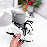 Ботинки женские Snowex белые 2618, фото 10