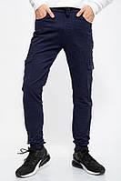 Джинсы мужские 129R6609 цвет Темно-синий