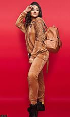 Костюм спортивный женский велюровый размеры 48-62, фото 3