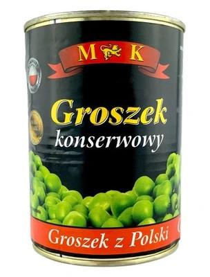 Горошек зеленый консервированный M & K 400 г Польша