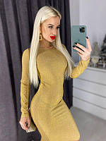 Люрексовое платье миди (40-46рр), фото 1