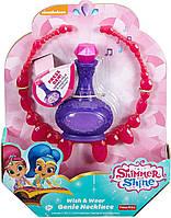 Шиммер и Шайн Волшебная лампа и ожерелье Fisher Price Shimmer And Shine Wish & Wear Genie Necklace, фото 1