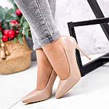 Туфли женские Sara беж 2622, фото 6
