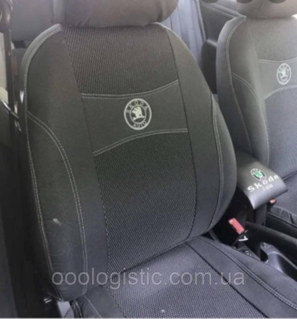 Авточехлы Ника на Skoda Octavia III А7 2013- з/сп раздельная Nika  шкода октавия