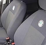 Авточехлы Ника на Skoda Octavia III А7 2013- з/сп раздельная Nika  шкода октавия, фото 9