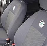 Авточехлы Ника на Шкода Фабиа 3 от 2014- Skoda Fabia III от 2015 раздельная и, фото 8