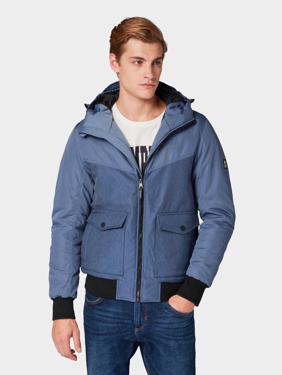 Куртка Tom Tailor 1004314 XXL Голубой