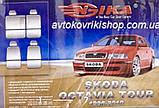 Авточехлы Ника на Шкода Октавия Тур 1996-2010 Skoda Octavia Tour Nika модельный, фото 3
