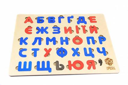 Алфавіт-сортер для дітей 360x280 мм