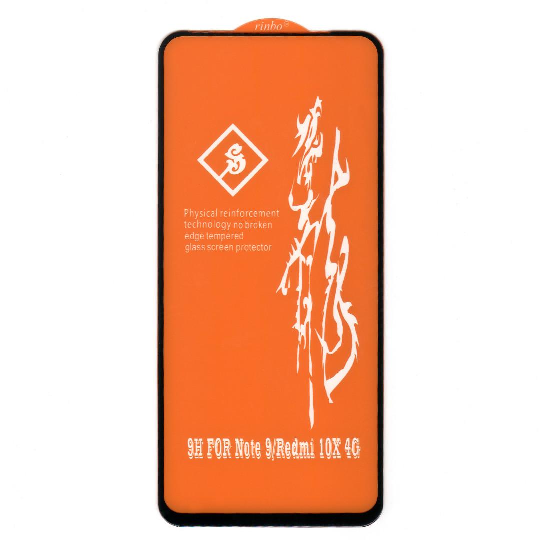 Защитное стекло 6D для Xiaomi Redmi 10X 4G | Big Edge | DK
