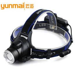 Налобний ліхтар акумуляторний Yanmai DX-6889 з датчиком руху