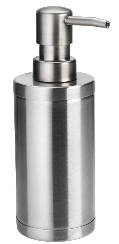 Дозатор для рідкого мила механічний металевий (Диспенсер )