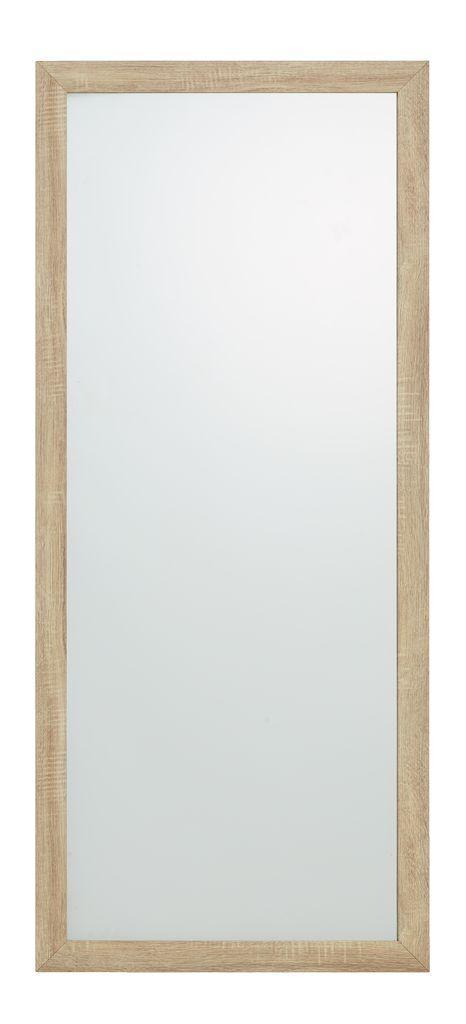 Большое зеркало настенное с деревянной рамкой 160 см
