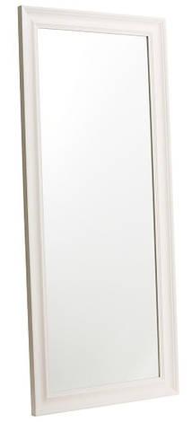Напольное большое зеркало белое 180см, фото 2