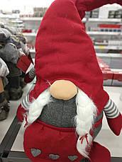 Новогодняя большая игрушка Эльф санта (90 см) (2 вида в ассортименте ), фото 2