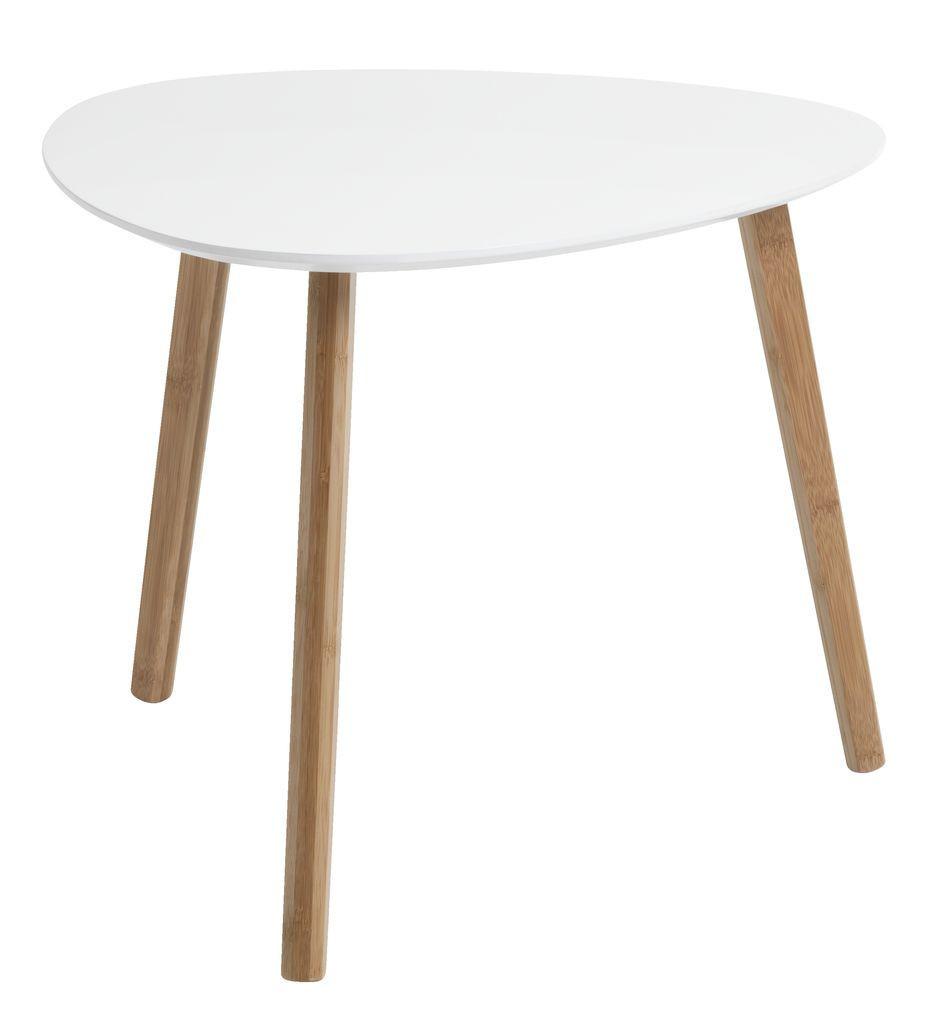 Столик приставной (табурет)  белый