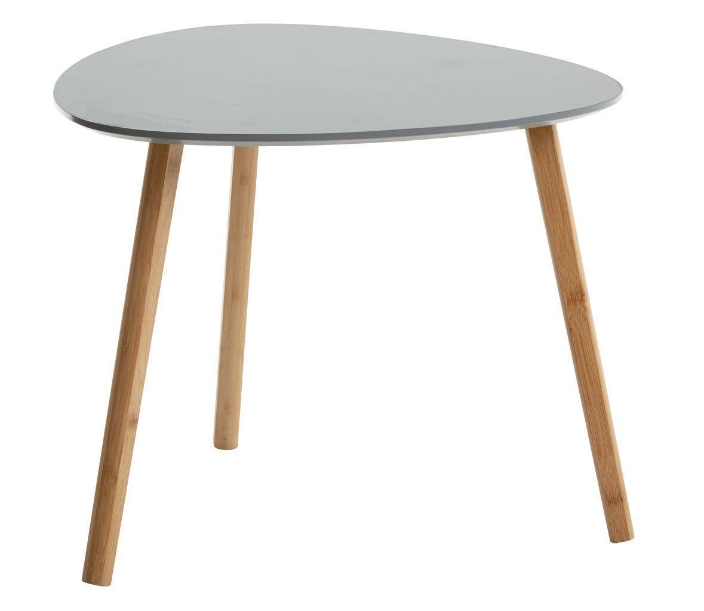 Столик приставной (табурет) 45см  серый