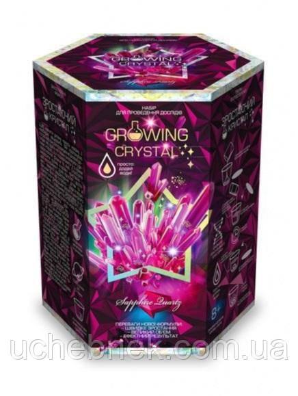 Набор для проведения опытов Growing Crystal Растущий кристалл Розовый Код GRK0108 Danko Toys